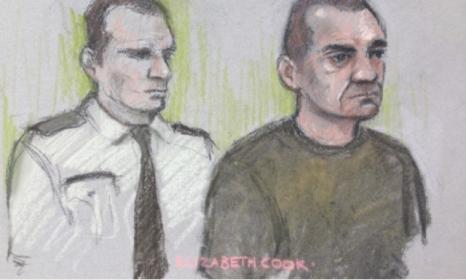 Костадин Костов твърди, че е невинен пред съда в Ексетър. Снимка:exeterexpressandecho.co.uk.