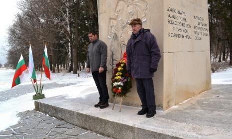 Благодарните потомци почетоха падналите за свободата. Снимка:община Казанлък