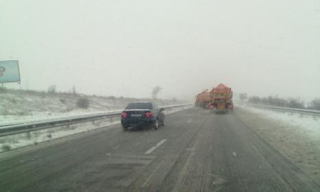 Републиканските пътища в Старозагорско са проходими при зимни условия. Снимка:topnovini.bg
