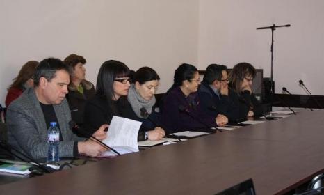Участниците в съвета обсъдиха заявките. Снимка:областна управа